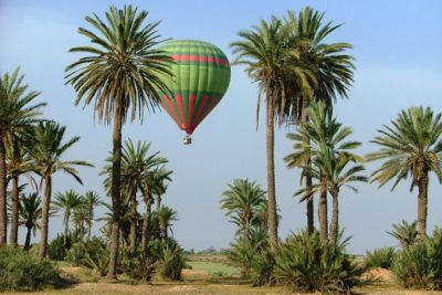 hot air balloon Morocco